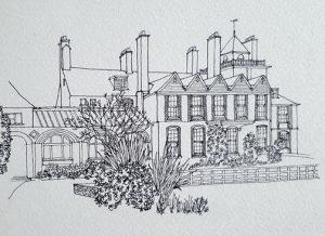 Standen-House-Sketch