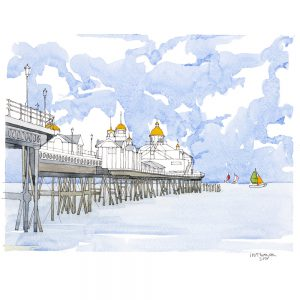 Eastbourne-Pier-Green_orange