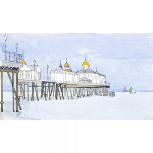 Eastbourne-Pier-green_white-sails