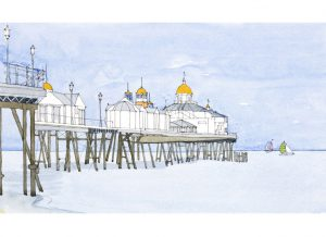 Eastbourne-Pier-green_white-sails-gallery