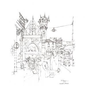 Sarlat-market-France